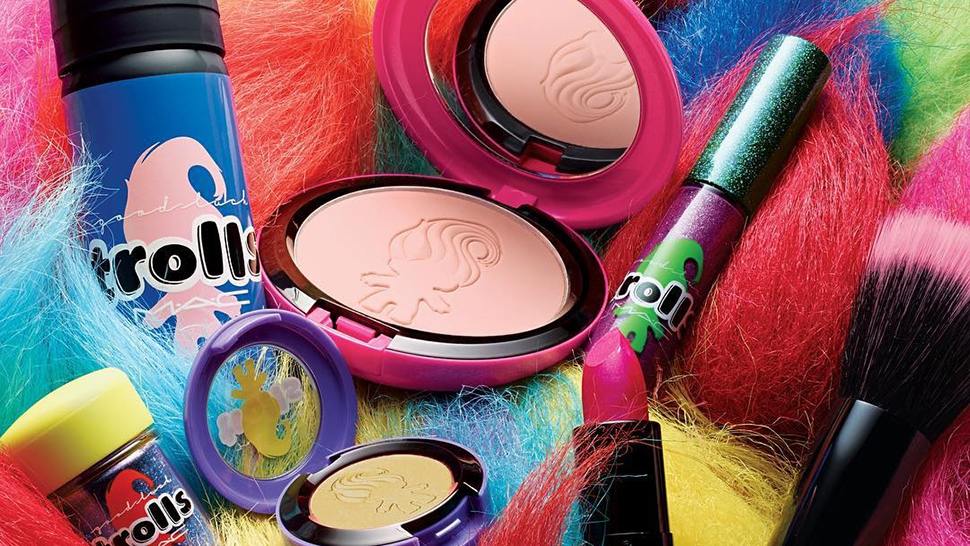 Mac Cosmetics' Good Luck Trolls Collection Gives Us Major '90s Nostalgia