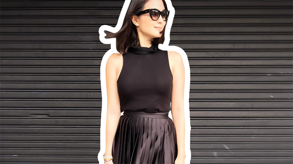 Heart Evangelista Has a Newfound Obsession for All-Black OOTDs