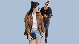 Kendall Jenner Is Trying To Make The Fringed Jacket Happen