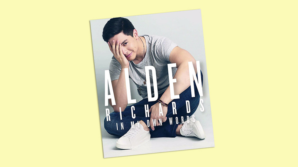 Get Alden Richards' New Book Before it's Gone