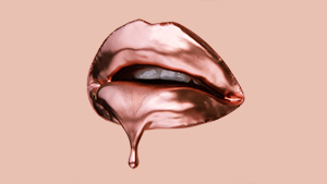 The Glossy Lip We Love Just Got A Metallic Makeover