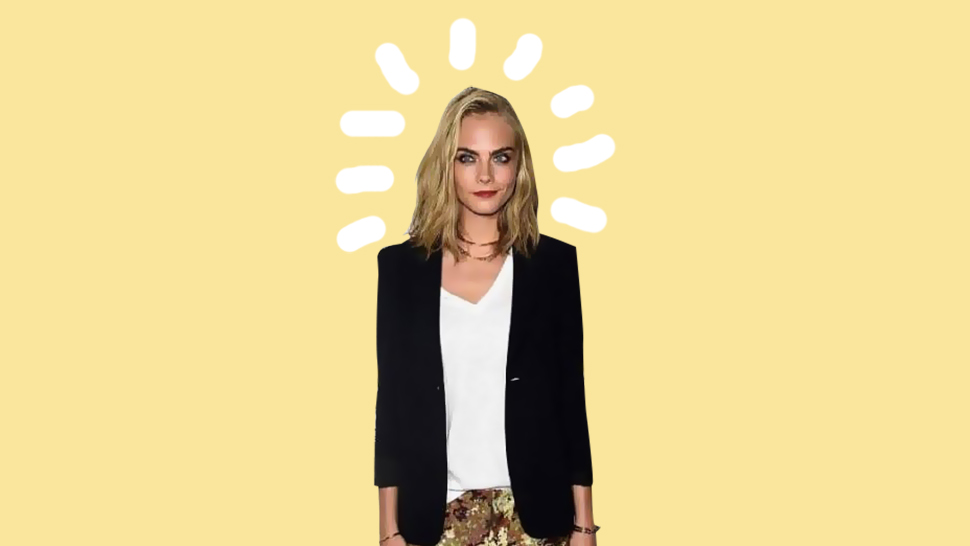 Have You Seen Cara Delevingne's New 'do?