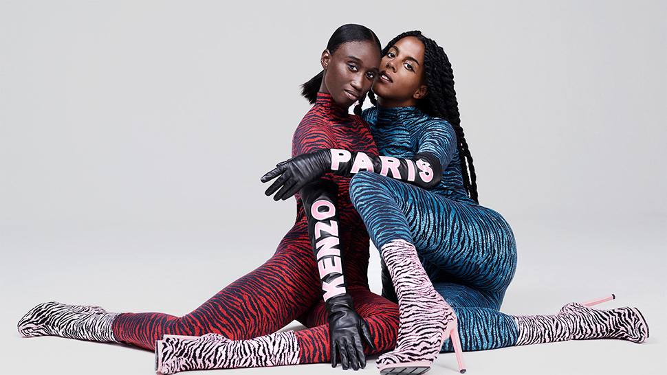 Here's a First Look at the H&M X Kenzo Collab