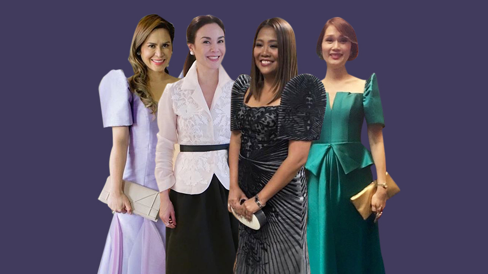 The Ladies Who Opted For Long Gowns At The Sona