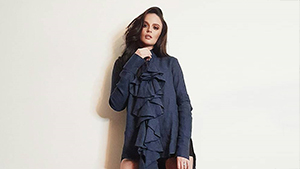 Georgina Wilson's Ruffled Mini Dress, And More From Our Top Celebrity Ootds Of The Week