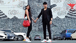 You Have To See Maxene Magalona And Robby Mananquil's Sneaker Shoefies