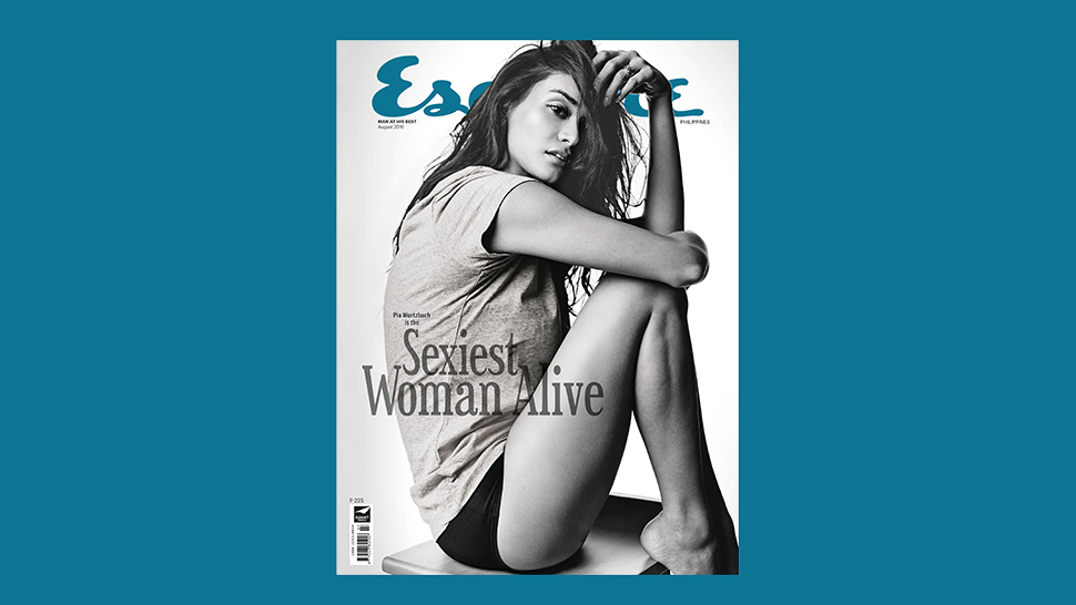 Pia Wurtzbach Is This Year's Sexiest Woman Alive, According To Esquire Philippines