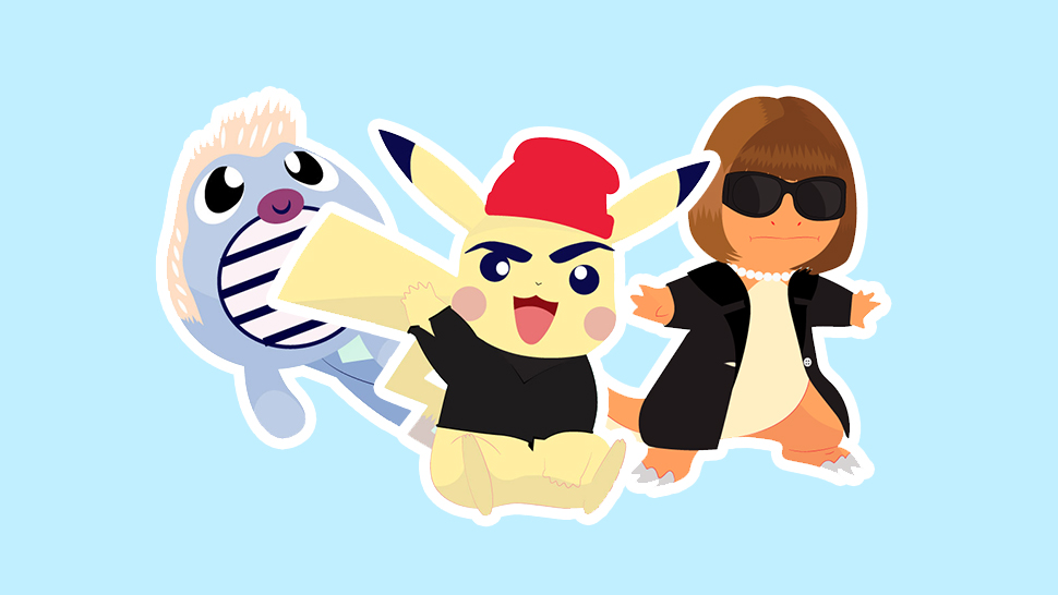 Here's What Happens When Fashion Personalities Become Pokemon