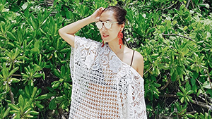 Liz Uy's Beach-ready Look, And More From This Week's Top Celebrity Ootds