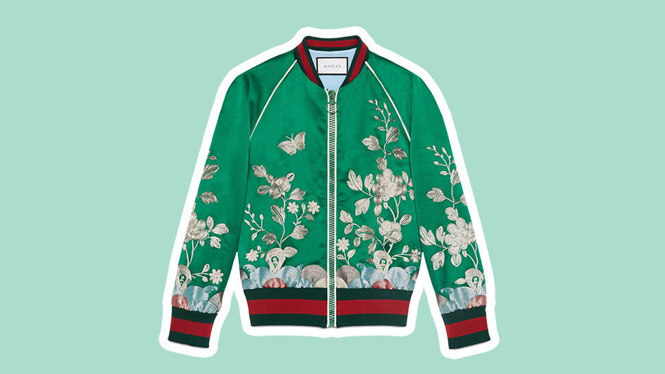 Bomber Jackets Just Got A Fancy Upgrade