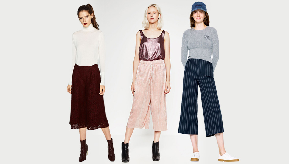 5 Ways To Wear Culottes
