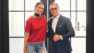 Gigi Hadid Goes Nautical In Her Upcoming Collection For Tommy Hilfiger