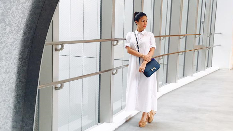 All Of Heart Evangelista's Super Chic Outfits In Japan