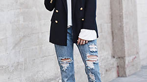5 Styling Tricks To Make Your Distressed Jeans Look Sophisticated
