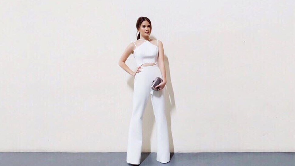 Elisse Joson's Sleek White Jumpsuit, and More From This Week's Top Celebrity OOTDs
