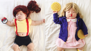 This Sleeping Baby Is The Cutest Cosplayer Ever
