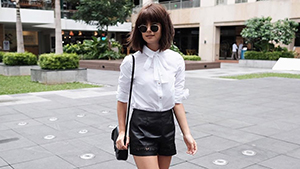 Mari Jasmine's White Bow Blouse, And More From This Week's Top Celebrity Ootds