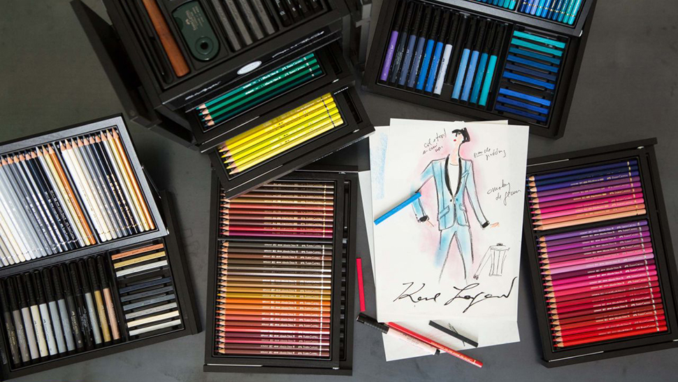 Here's What Everyone's Doing With Their Karl Lagerfeld Art Kits