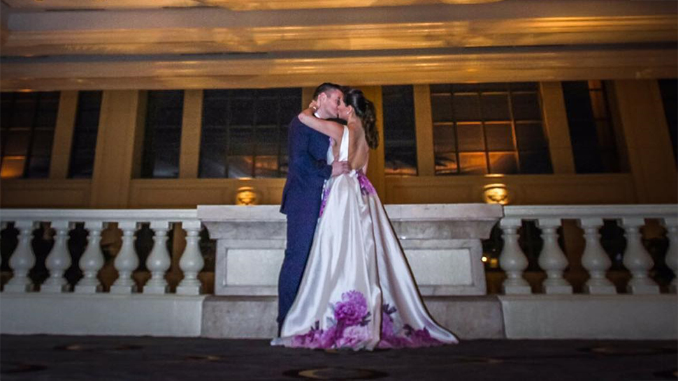 Cristalle Belo Is Now Mrs. Pitt