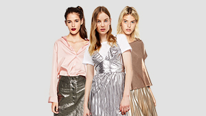 5 Ways To Wear Metallics
