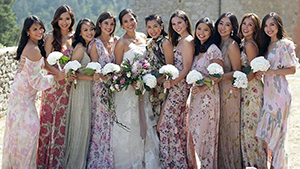 What The It Girls Wore To Isabelle Daza And Adrien Semblat's Wedding
