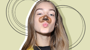 These Models Wore Snapchat Filters On The Runway