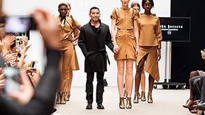 Filipino Designer John Herrera Shows For London Fashion Week