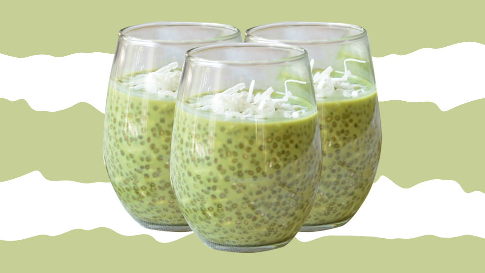 This Chia Pudding Recipe Is A Great Dessert For Matcha Lovers