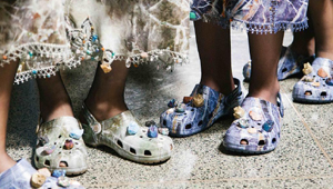 Crocs Made An Appearance At London Fashion Week