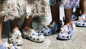 Crocs Made An Appearance At London Fashion Week