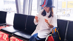 Lotd: Sandara Park's Airport Fashion
