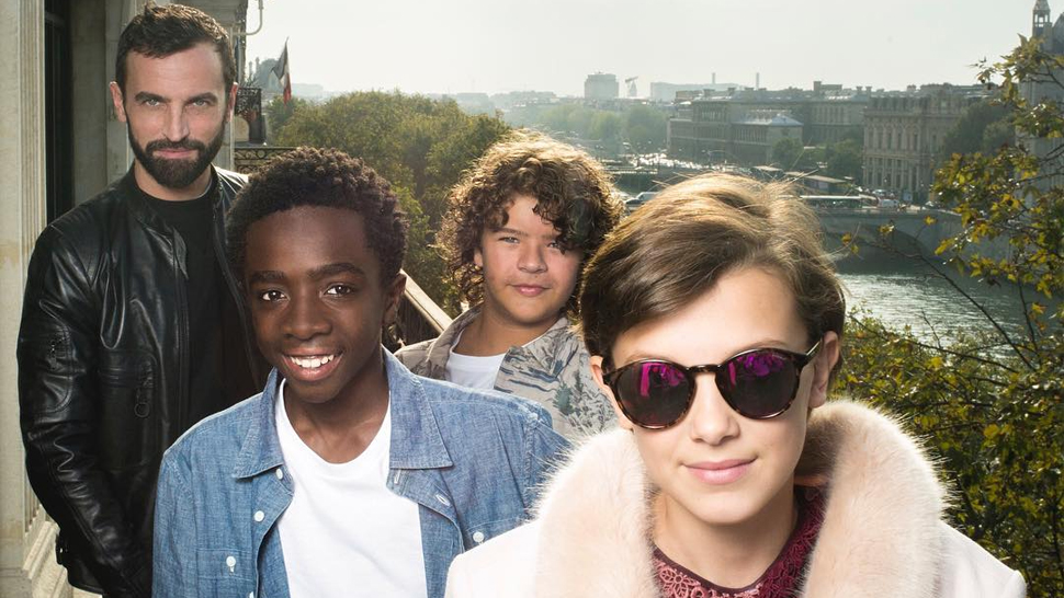 Are the Stranger Things Kids the Next Faces of Louis Vuitton?