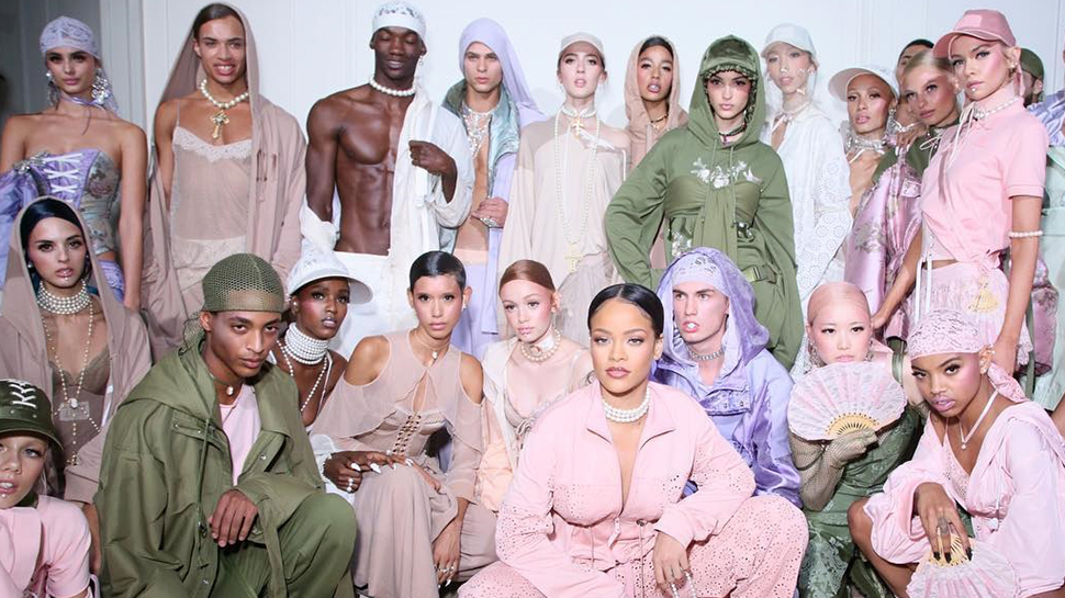 Rihanna Brings Marie Antoinette's Gym Outfits To Life In Paris