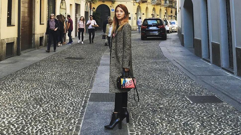 Every Designer Look Sandara Park Wore at Milan Fashion Week