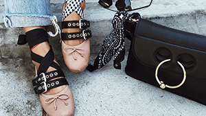 These Cool Girl Ballet Flats Are All Over Instagram