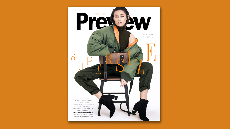 Here's a Peek Inside Our Big Beauty Issue With Liza Soberano