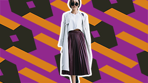 3 New And Easy Ways To Wear Pleated Skirts