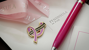 The Peninsula Manila Teams Up With Estee Lauder To Fight Breast Cancer