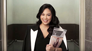 Dominique Cojuangco Tries To Become A Preview Editor
