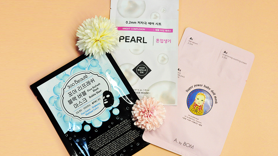 3 Korean Beauty Masks For Every Skin Need