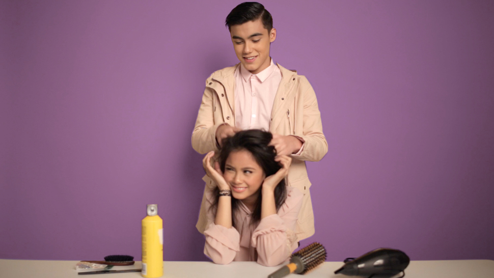 Bailey May Tries To Braid Ylona Garcia's Hair