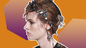 Editor's Picks: Opulent Hair Jewelry