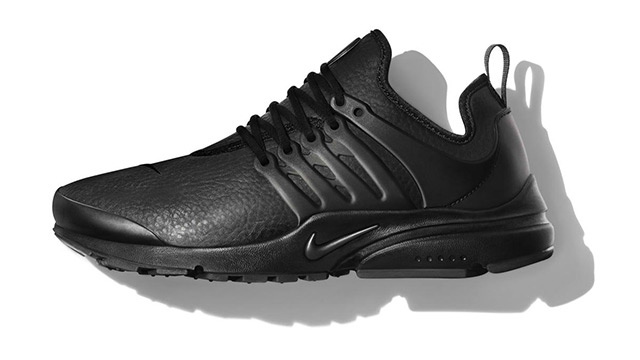Nike Just Dropped 4 All-black Leather