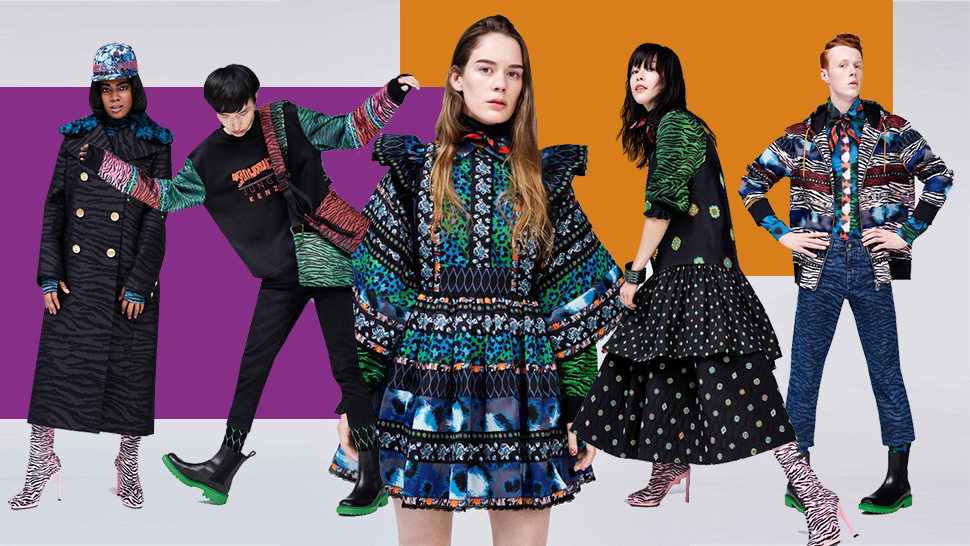 All the Looks We're Eyeing From the H&M X Kenzo Collab