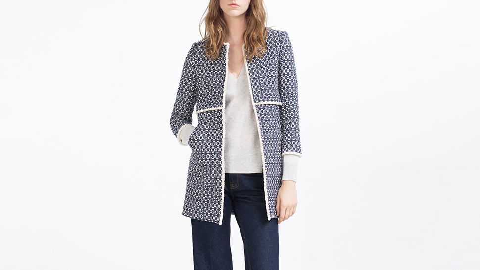 This Zara Coat Is So Popular It Even Has Its Own Instagram Page