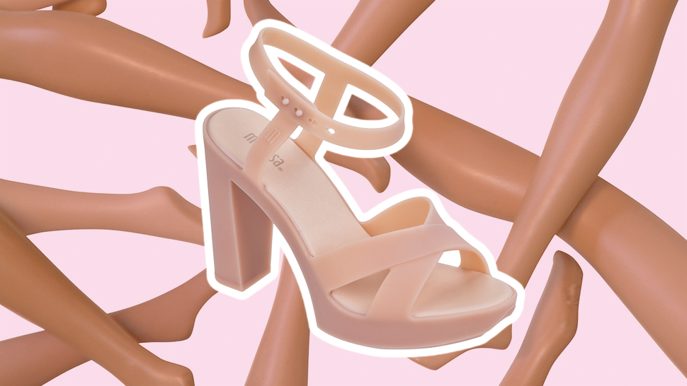 These Pink Plastic Shoes Will Remind You Of Your Favorite Barbie Dolls