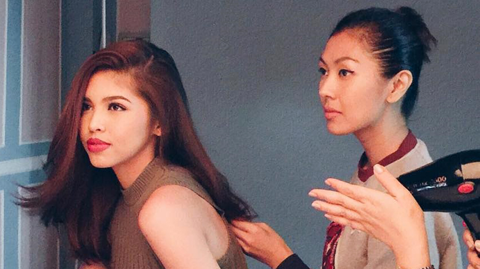 Celebrity Stylist Liz Uy Styles Aldub For Their Kalyeserye Wedding