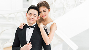 Alden Richards And Maine Mendoza Look Absolutely In Love In Their Kalyeserye Prenup Shoot