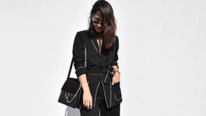 7 Black And White Outfits For The Chic Girl Boss