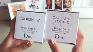 Unboxing Day With Belle: Dior's Cushion Compacts